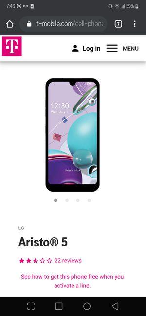 LG Aristo 5 (brand new)! for Sale in Aberdeen, WA