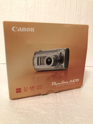 Digital camera canon powershot A470 for Sale in Painesville, OH