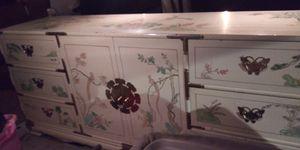 Asain dresser aboit 6 ft long. Very good shape heavy duty for Sale in Pensacola, FL