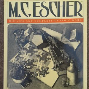 m.c. escher his life and complete graphic work for Sale in Oklahoma City, OK