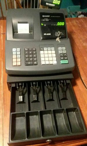 SHARP XE-A206 Cash Register for Sale in Newport, ME