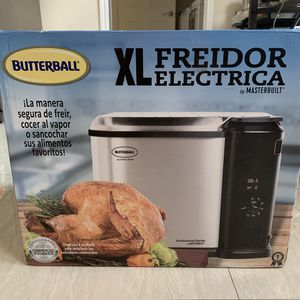 BRAND NEW Butterball Indoor Electric Turkey Fryer XL for Sale in Richmond, TX