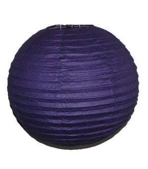 """Wholesale Lot 24 Pack - Party Paper Lantern-Round 12""""-Luau Supplies- Oriental/Chinese Lamps - Purple for Sale in Kissimmee, FL"""