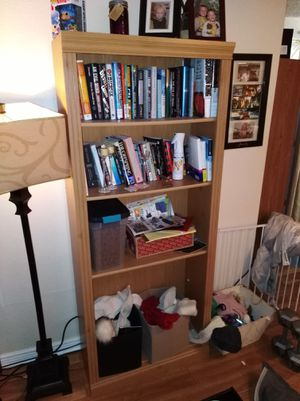 2 Wood Bookshelves in Excellent Condition for Sale in Denver, CO