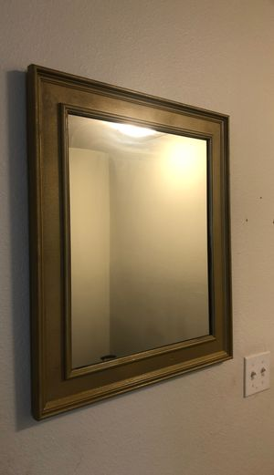 Gold mirror for Sale in Tallahassee, FL