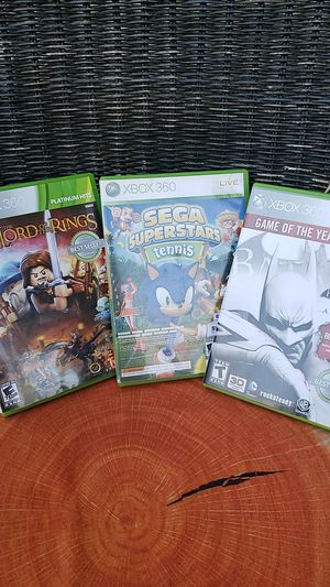 Bundle of 3. Xbox 360 Games for Sale in Des Moines, WA