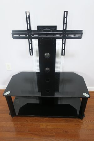 LIKE NEW Glass/Metal TV Stand! for Sale in Chesterfield, VA