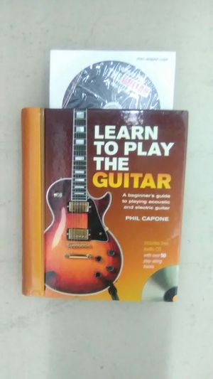 Learn How to Play the Guitar book with CD for Sale in West Palm Beach, FL