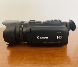 Canon AX10 Professional Camcorder HD Camera 🎥 📸 for Sale in Washington, DC