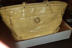 Oversized Coach Tote Bag for Sale in Lewisville, TX