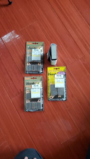 Versah Brake Pads front and rear for cbr for Sale in Renton, WA