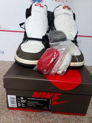 Air Jordan 1 High OG TS SP 'Travis Scott Cactus Jack Mens Size 9 for Sale in Hamilton Township, NJ