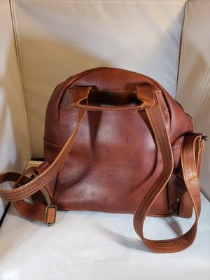 woman backpack (100% real Leather) for Sale in Buena Park, CA