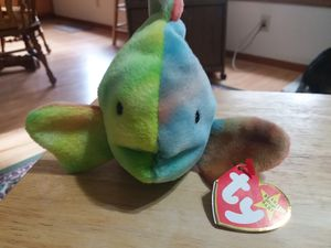 Ty beanie baby Coral the fish for Sale in US