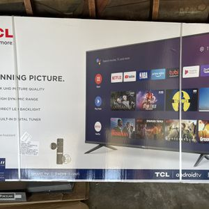 """TCL 65"""" Class 4-Series 4K UHD HDR Smart Android TV – 65S434 for Sale in Monterey Park, CA"""