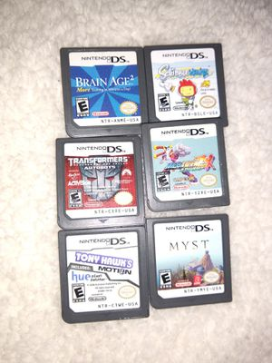 6 ds games Nintendo for Sale in Edgewood, WA