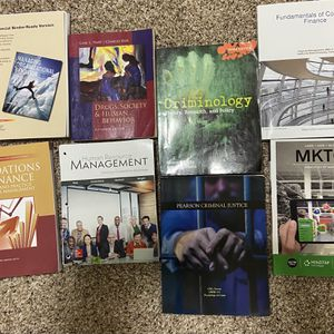 Business Management / Criminology Books for Sale in Madera, CA
