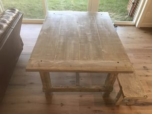 Rustic reclaimed kitchen table for Sale in Ashburn, VA