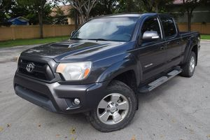 2012 TOYOTA TACOMA PRERUNNER 4x4 DOUBLE CAB V6 LONG BED for Sale in Miramar, FL