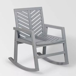 **NEW** Saracina Home Chevron Outdoor Rocking Chair for Sale in Orange,  CA