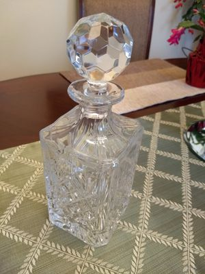 Godinger Crystal Decanter for Sale in Leesburg, VA