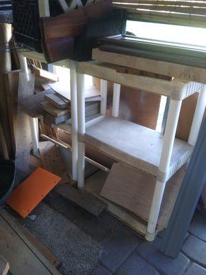 2 short white shelves for Sale in Bartow, FL