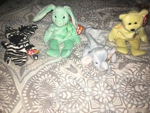 TY Beanie Babies Rare Hippity with all flaws for Sale in Deltona, FL