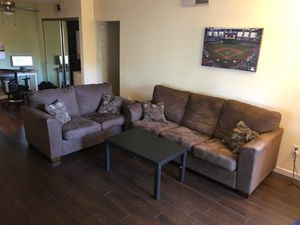Sofa and love seat in great condition for Sale in Scottsdale, AZ