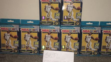 NBA Hoops Premium Stock Hangers (10) for Sale in Cape Coral,  FL