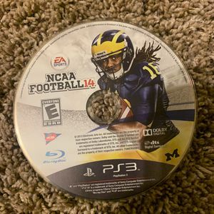 NCAA 14 For SALE + PS3 for Sale in Arlington, VA