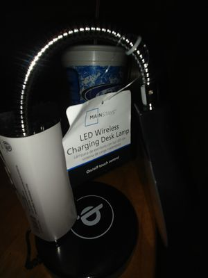 Led wireless charging desk lamp for Sale in Stamping Ground, KY