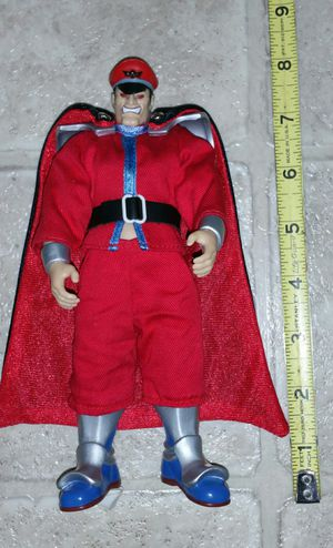 """RARE Capcom M. Bison Street Fighter 8"""" Collectible Action Figure for Sale in Lynnwood, WA"""