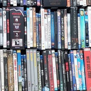 Lot of 250 Blu-ray's and DVD's for Sale in Orlando, FL