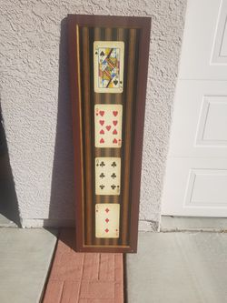 LARGE Playing Cards Picture for Sale in Henderson,  NV