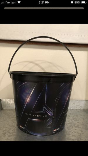 Avengers Infinity War Bucket for Sale in Burbank, CA