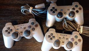 Playstation 2 ps2 controllers $15 each for Sale in Fresno, CA