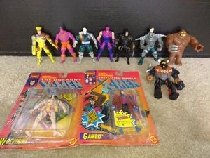 Vintage The Uncanny X-Men and DC Action Figures for Sale in Alameda, CA
