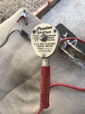 Phantom Bantam Electric Fishing Motor for Sale in Scottsdale, AZ