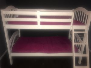 Twin over twin bunk bed for Sale in Fort Washington, MD