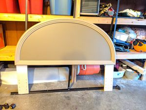 FREE - Queen Head Board and Metal Frame for Sale in Renton, WA