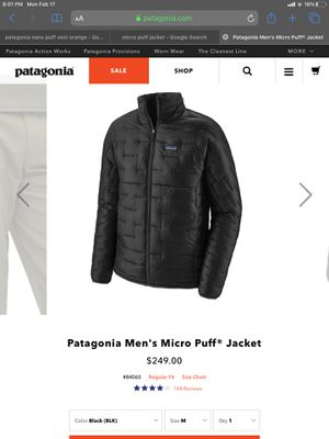Patagonia Jacket 2xl for Sale in Los Angeles, CA