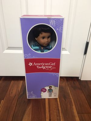 Truly Me American Girl boy doll NIB with assesories for Sale in Yarrow Point, WA