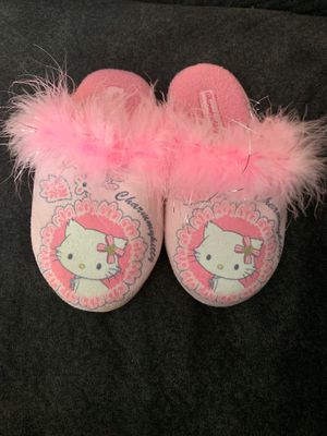 Hello Kitty House Slippers Girl Size 9 for Sale in City of Industry, CA
