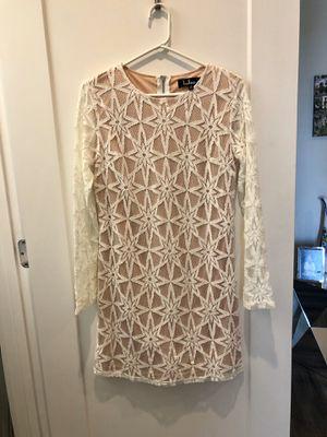 Lulus white lace dress for Sale in Dunedin, FL