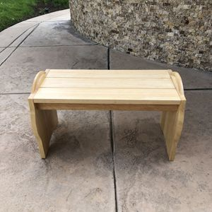Solid Wood Basketball Bench for Sale in Los Angeles, CA