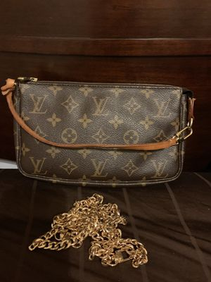 LV Louis Vuitton pochette clutch crossbody bag for Sale in Pearland, TX