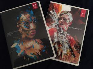Adobe cs6 Photoshop and Adobe cs6 Illustrator!! for Sale in O'Fallon, MO