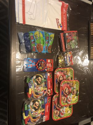 Mario party stuff for Sale in Saginaw, TX