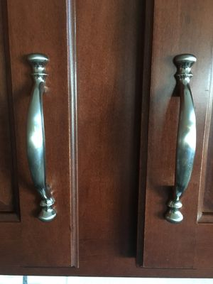 Cabinet handles quantity 50 for Sale in Ashburn, VA