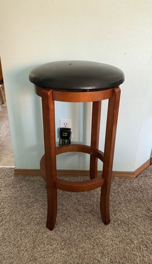 Bar Height Stool - Solid and Sturdy for Sale in Tacoma, WA